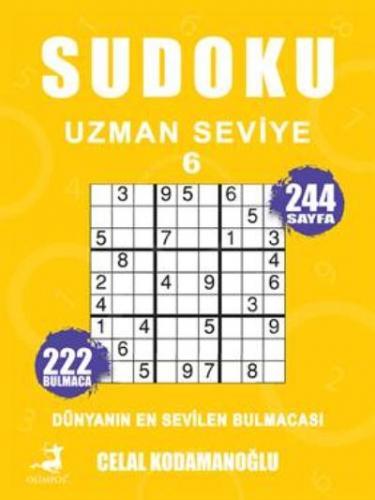 Sudoku Uzman Seviye 6