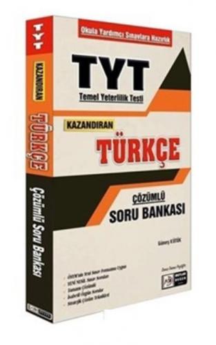 Tasarı TYT Kazandıran Türkçe Çözümlü Soru Bankası-YENİ