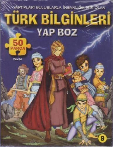 Türk Bilginleri Yap Boz 50 Parça Puzzle (Ajans 2023)