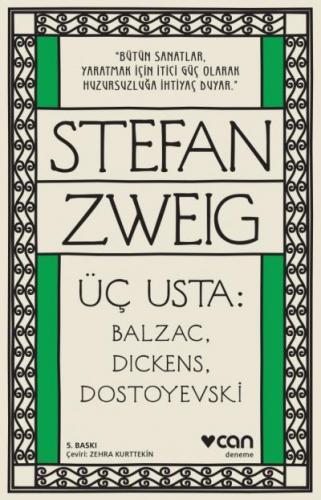 Üç Usta Balzac Dickens Dostoyevski