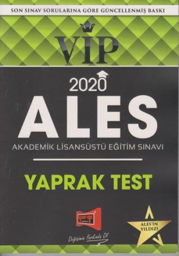 Yargı 2020 ALES VIP Yaprak Test-YENİ