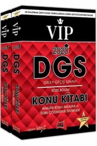 Yargı DGS VIP Sayısal – Sözel Bölüm Konu Kitabı Seti 2020-YENİ