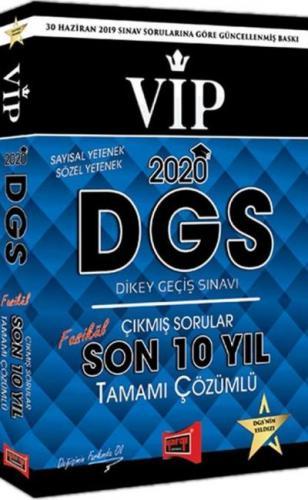 Yargı DGS VIP Sayısal Sözel Yetenek Son 10 Yıl Tamamı Çözümlü Fasikül Çıkmış Sorular 2020-YENİ