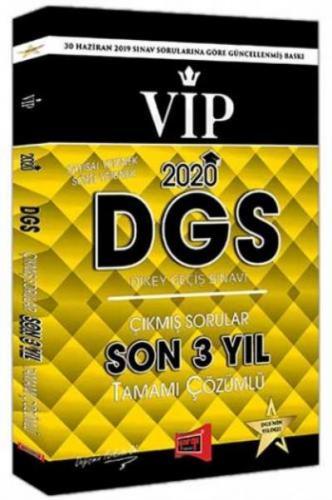 Yargı DGS VIP Sayısal Sözel Yetenek Son 3 Yıl Tamamı Çözümlü Çıkmış Sorular 2020-YENİ