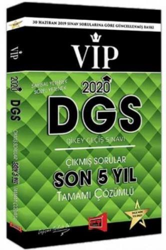 Yargı DGS VIP Sayısal Sözel Yetenek Son 5 Yıl Tamamı Çözümlü Çıkmış Sorular 2020-YENİ