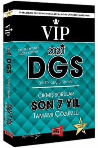 Yargı DGS VIP Sayısal Sözel Yetenek Son 7 Yıl Tamamı Çözümlü Çıkmış Sorular 2020-YENİ