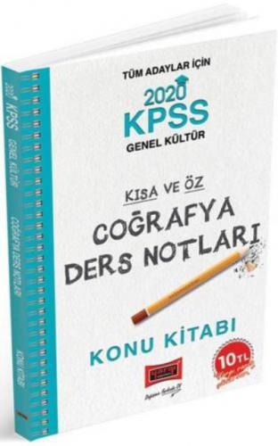 Yargı KPSS Coğrafya Kısa ve Öz Ders Notları 2020-YENİ