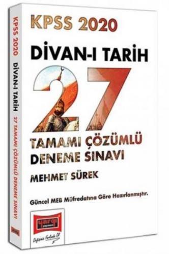 Yargı KPSS Divan-ı Tarih Tamamı Çözümlü 27 Deneme Sınavı 2020-YENİ
