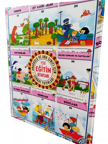 Anaokulu ve Ana Sınıfı İçin Yeni Eğitim Seti 30 Kitap Set - Kitap16