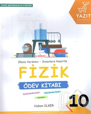 10. Sınıf Fizik Ödev Kitabı - Kitap16