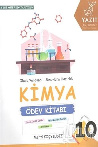 10. Sınıf Kimya Ödev Kitabı - Kitap16