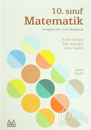 10. Sınıf Matematik Rengarenk Soru Bankası - Kitap16