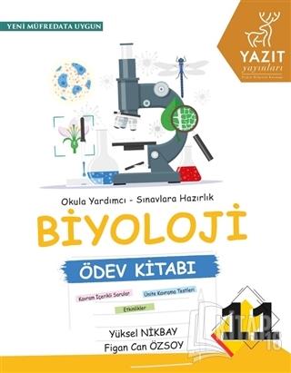 11. Sınıf Biyoloji Ödev Kitabı - Kitap16