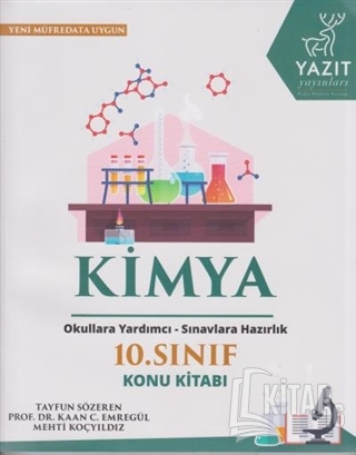 2019 10. Sınıf Kimya Konu Kitabı - Kitap16