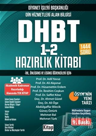 2020 KPSS Ortaöğretim Din Hizmetleri Alan Bilgisi DHBT 1-2 Hazırlık Ki