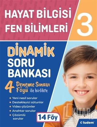3. Sınıf Hayat Bilgisi - Fen Bilimleri Dinamik Soru Bankası - Kitap16