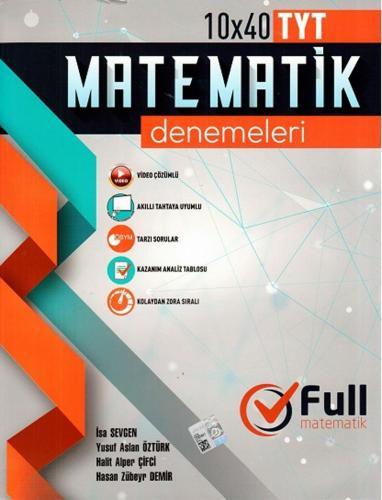 TYT FULL DENEME MATEMATİK 10*40 - Kitap16