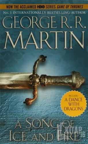 A Game of Thrones Set (5 Kitap) (İngilizce) - Kitap16
