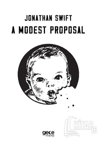 A Modest Proposal - Kitap16