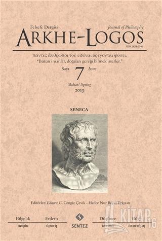 Arkhe - Logos Felsefe Dergisi Sayı: 7 Bahar 2019 - Kitap16