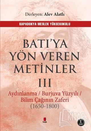 Batı'ya Yön Veren Metinler 3 - Kitap16