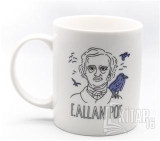 Can Dükkan Kupa (Porselen) - Portreler Serisi - Edgar Allan Poe - Kita