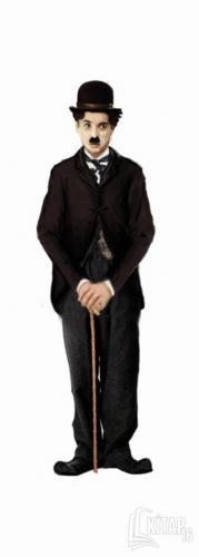 Charlie Chaplin - Lazer Kesim Ayraç - Kitap16
