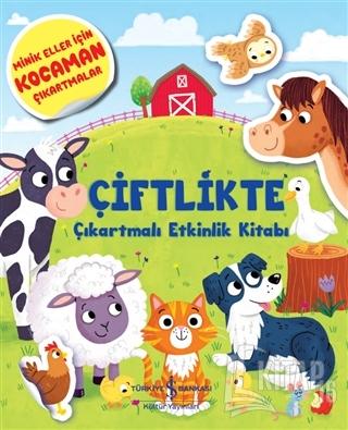 Çiftlikte Çıkartmalı Etkinlik Kitabı - Kitap16