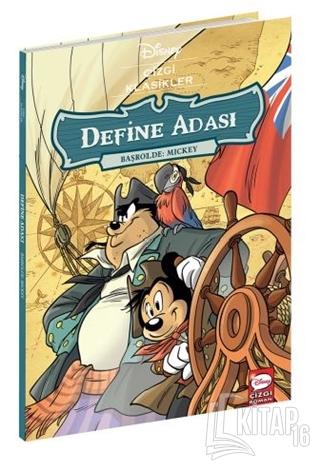 Define Adası Başrolde: Mickey - Disney Çizgi Klasikler - Kitap16