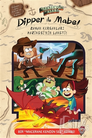 Dipper ve Mabel - Zaman Korsanları Hazinesi'nin Laneti - Kitap16