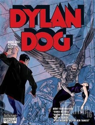 Dylan Dog Mini Dev Albüm Sayı: 7 Canlı Heykel - Kitap16