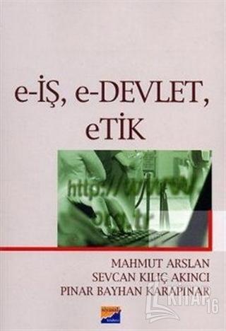 E-İş, E-Devlet, Etik - Kitap16