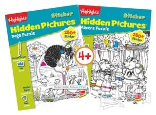 Highlights Sticker Hidden Pictures 2'li Set - Kitap16