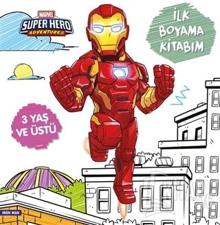 İlk Boyama Kitabım Iron Man - Marvel Super Hero Adventures - Kitap16
