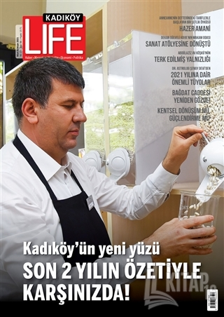 Kadıköy Life Sayı: 98 Mart - Nisan 2021 - Kitap16