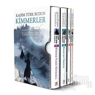 Kadim Türk Budun Kimmerler Kutulu Set (4 Kitap Takım) - Kitap16