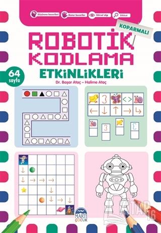 Koparmalı Robotik Kodlama Etkinlikleri - 3 - Kitap16