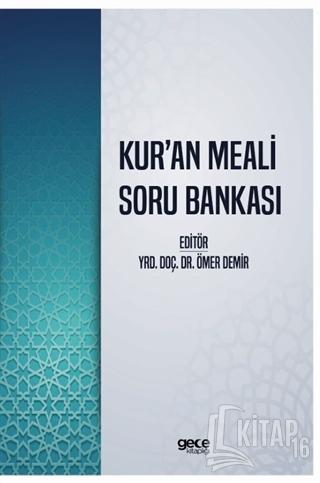 Kur'an Meali Soru Bankası - Kitap16