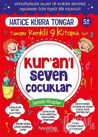 Kur'an'ı Seven Çocuklar 9'lu Set - Kitap16