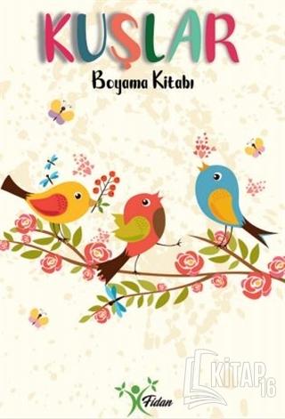 Kuşlar - Boyama Kitabı - Kitap16