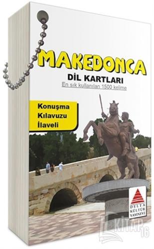 Makedonca Dil Kartları - Kitap16