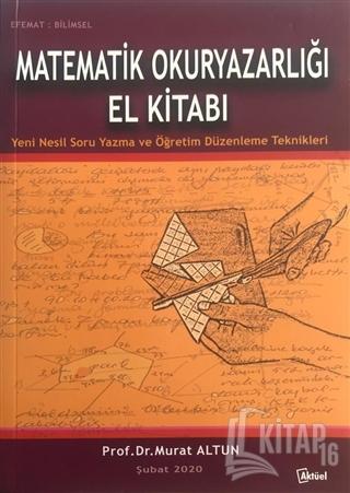 Matematik Okuryazarlığı El Kitabı - Kitap16
