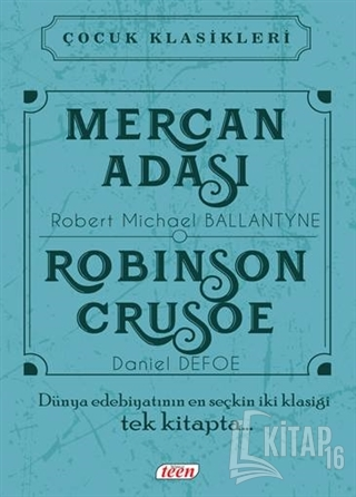 Mercan Adası - Robinson Crusoe (Ciltli) - Kitap16
