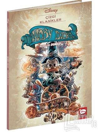 Moby Dick Başrolde: Donald - Disney Çizgi Klasikler - Kitap16
