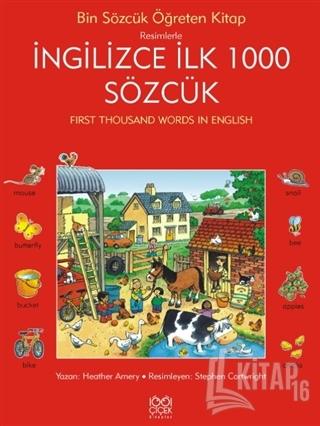 Resimlerle İngilizce İlk 1000 Sözcük - Kitap16