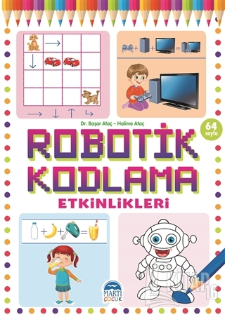 Robotik Kodlama Etkinlikleri 19 - Kitap16