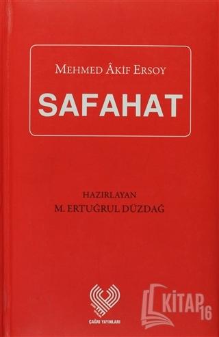 Safahat (Kırmızı) (Ciltli) - Kitap16
