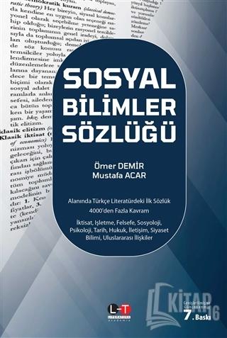 Sosyal Bilimler Sözlüğü (Ciltli) - Kitap16