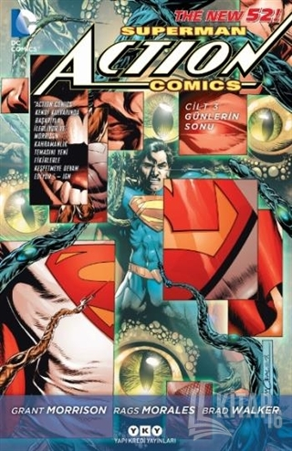 Superman Action Comics Cilt 3 - Kitap16