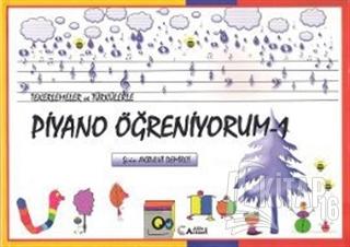 Tekerlemeler ve Türkülerle Piyano Öğreniyorum - 1 - Kitap16